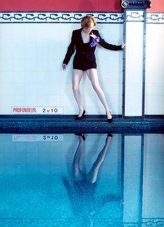 Tilda Swinton for Interview Magazine by Sophie Delaporte.