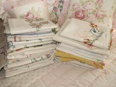 Vintage Linen Treasures: Basic Care of Vintage Linens