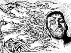 "Art by FON - KROMENDORFF ""Drag me to hell"""