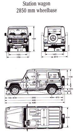 G-Wagon Technical Information