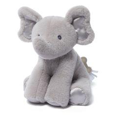 babyGUND Bubbles Elephant Gray Keywind Musical