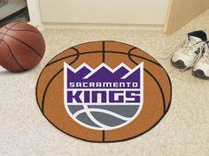 "Sacramento Kings Basketball Mat 27"" diameter"