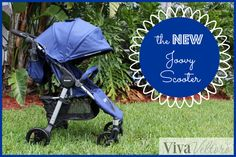 The NEW @Joovy Scooter Stroller!