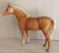 Pottery Aspiring Vintage Beswick Brown Shire Horse Beswick