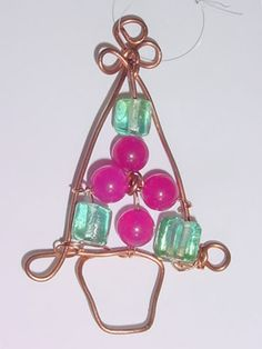 Free USA shipping  Christmas Tree ornament Sun Catcher by icColors, $14.00