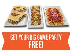 Preparing for The Big Game is important. Place your catering order for this weekend before it's too late! If the combined score hits 50 points (exactly) at the end of the game, your catering purchase will be FREE. See Buona.com/The-Big-Game for details #BigGame #BuonaBeef