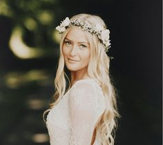 If you're looking for summer's hottest hair accessory–we've got it right here. Flower crowns are all the rage, whether made by hand or by a florist. These rosy, twisty, stems filled with flower goodness make our hearts so happy. Here's 22 flower crown creations to make you swoon. 1. Wedding lovin' p…