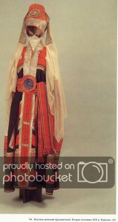 :: Просмотр темы - Русский народный костюм Authentic Costumes, Film Dance, Court Dresses, Russian Folk, Ethnic Dress, Russian Fashion, Folk Costume, Historical Costume, Fashion Design