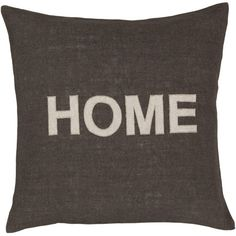 cute typographic HOME just pillow on joss + main today! http://www.jossandmain.com/invite/FD7235 $22.95
