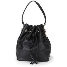 199$ Bolsa saco Isabella Fiorentino BLA93056, confeccionada em material sintético. Fecho na parte superior com cordão de ajuste e botão imã interno. Bolso interno com zíper, além de porta celular e documen