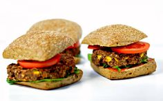 <p>Crispy and slightly golden on the outside, chewy on the inside with the perfect blend of spiciness, smokiness and sweetness,  these black bean burgers are love at first bite.</p>