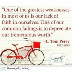 Greatest weaknesses ... L. Tom Perry