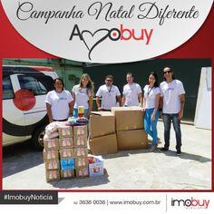 A Campanha Natal Diferente realizada este ano, contou com a participação de toda equipe Imobuy. Escolhemos fazer a diferença e temos a certeza que tornamos o Natal um pouco mais feliz para as crianças do Hospital do Câncer.