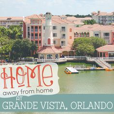 We are about to let you in on a secret! One that will allow you to save money and stay in comfort, and decide on a resort for your next trip to Orlando. Three words: Marriott Vacation Club. Here's two more words: Grande Vista. Imagine an expansive resort with all the amenities, one and two …