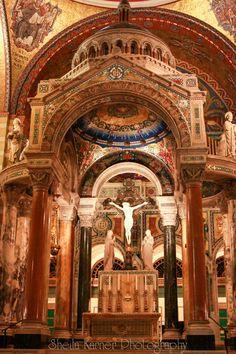 St. Louis Basilica | Words - Cathedral Basilica, mosaic, church, Catholic