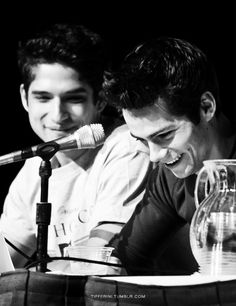 Tyler Posey and Dylan O'Brien ~basically, their real life bromance >>>