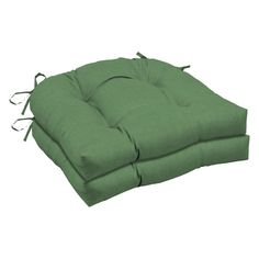 arden selections moss leala texture wicker seat cushion 2 pack rh pinterest com