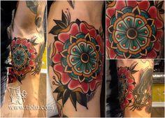 tiolu.com892 x 640 · jpegTraditional Mandala Flower Tattoo