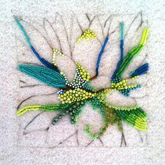 eleanor pigman | In Progress....Seed Bead Agave