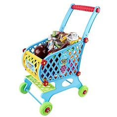 Toy Shopping Cart With 46 Shopping Accesories Included ** This is an Amazon Affiliate link. You can get additional details at the image link.