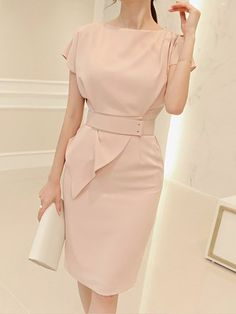 Dresses - Shop Affordable Designer Dresses for Women online Modest Dresses, Elegant Dresses, Casual Dresses, Short Dresses, Dress Outfits, Fashion Outfits, Office Dresses For Women, Dress Clothes For Women, Dresses For Work