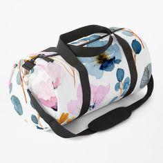 Work Travel, Custom Bags, Gym Bag, Shoulder Strap, Floral Design, Autumn, Backpacks, Seasons, Art Prints