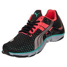 Women's Puma Mobium Elite Running Shoes  FinishLine.com   Black/Hibiscus/Silver/Metallic