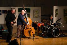 Martin Speicher (Saxophone, Klarinetten), Georg Wolf (Kontrabass), Lou Grassi (Schlagzeug) - Konzertfotograf Kassel http://blog.ks-fotografie.net/konzertfotografie/drummer-lou-grassi-live-konzertfotografie/
