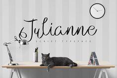 Julianne Script Typeface [-50% Intro] from FontBundles.net