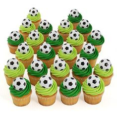 24 Soccer Cupcake Toppers Bakery Crafts http://www.amazon.com/dp/B00LG0AQA2/ref=cm_sw_r_pi_dp_r2UMub1VX9KHG