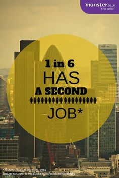 Why one in six people have a second job #findbetter #jobs http://oak.ctx.ly/r/15rhh