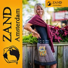 Check out Zand Amsterdam! They donated a snap skirt to the #bbb16 silent auction! Zand Amsterdam skirts are one size fits all, easy to combine, and fair trade!