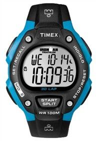 Timex Ironman Full-Size (Blue & Black) 30 Lap FullSize is an easy to use watch for fitness beginners.