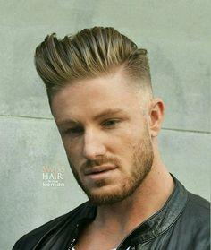 Like his hair style