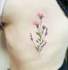 Bildergebnis für blumen tattoo filigran