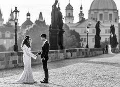 The Lovers on the Bridge (c) Dogan Kokdemir Dk Photography, Formal Dresses, Wedding Dresses, Bridge, Mermaid, Lovers, Fashion, Dresses For Formal, Bride Dresses