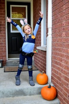 How to make your own Officer Judy Hopps costume for kids