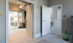 How to install wood or MDF moulding around doors and windows. A project that completes a door or window installation and beautifully finishes the room. Wood Entry Doors, Wood Exterior Door, Exterior Cladding, Interior Door Installation, Mid Century Modern Door, Mobile Home Exteriors, Iron Doors, Window Trims, Shoulder Exercises