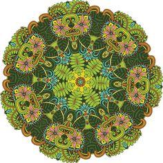 Aloha Mandala ColorMe Decal