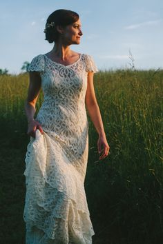 BHLDN Flamenca Gown