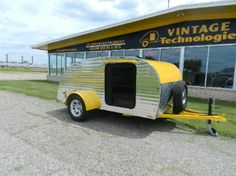 Check out http://teardroptrailerparts.com!  Teardrop Trailer Parts, Sales & Service (517) 741-5000, Email frankbear007@gmail.com. We carry all parts necessary for your restoration or construction needs. No matter what you are looking for in a teardrop trailer, we have it!