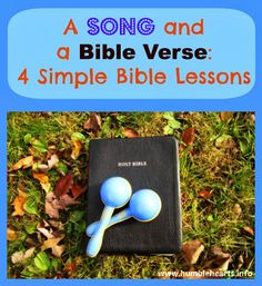 Humble Hearts: A Song and A Bible Verse: 4 Simple Bible Lessons
