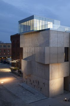 [ SPEECH Tchoban & Kuznetsov ] Tchoban Foundation – Museum for Architectural Drawing
