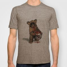 ANGRY EWOK T-shirt by cfortyone - $18.00