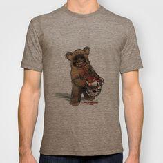 ANGRY EWOK T-shirt by cfortyone - $18.00