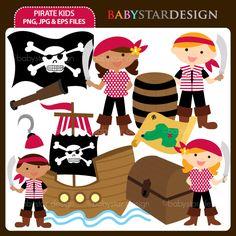 Pirate Kids - Cliparts - Mygrafico.com