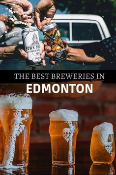 Edmonton's breweries have been getting worldwide recognition during these last few years. Here is a list of our favourite breweries so you can enjoy the best beers at their source. Enjoy! Best Craft Beers, Canadian Travel, Visit Canada, Best Beer, Is 11, Brewery, Adventure Travel, Around The Worlds, Good Things