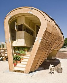 Solar House Fab Lab Project by Institute for Advanced Architecture of Catalonia