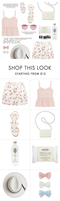"""getaway"" by riennise ❤ liked on Polyvore featuring RED Valentino, Steve J & Yoni P, Oscar de la Renta, Nine West, philosophy, Calypso Private Label, Decree and Sheriff&Cherry"