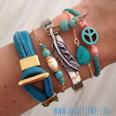 We love summer !! Perfect bracelets in Ibiza style ❤️